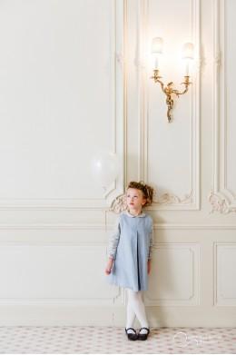Robe MARGAUX Bleue