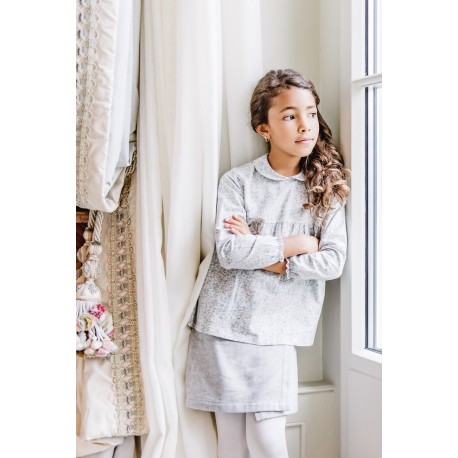 Jupe FLORENTINE Grise Enfant 45 CHF