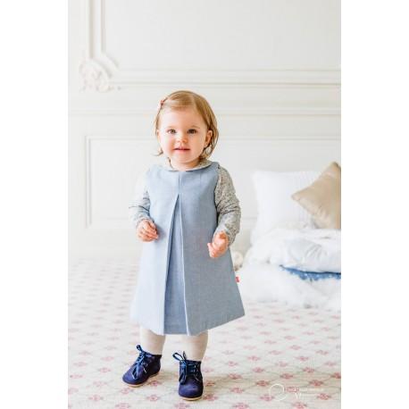 Robe MARGAUX Bleue Bébé 55 CHF