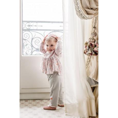Pantalon CONSTANCE fleuri rose Bébé 29 CHF